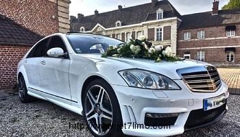 jet7limo - Mercedes S500 pack amg  limousine a la location sur lille , roubaix , tourcoing et dans le nord pas de calais.douai. arras .croix .lens .carvin