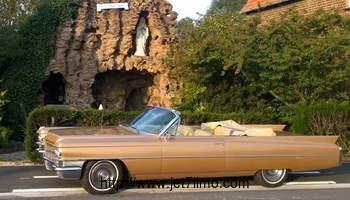 jet7limo - cadillac cabriolet a la location sur lille , roubaix , tourcoing et dans le nord pas de calais.douai. arras .croix .lens .carvin